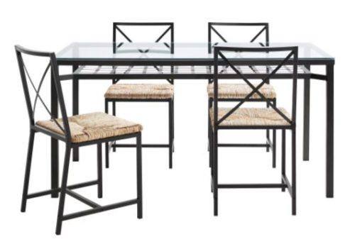 Ikea Conjunto De Mesa Y Sillas.Mesa Y Sillas De Comedor Grana Ikea