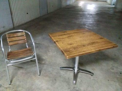 Vendo Mesas Y Sillas Para Terraza De Bar